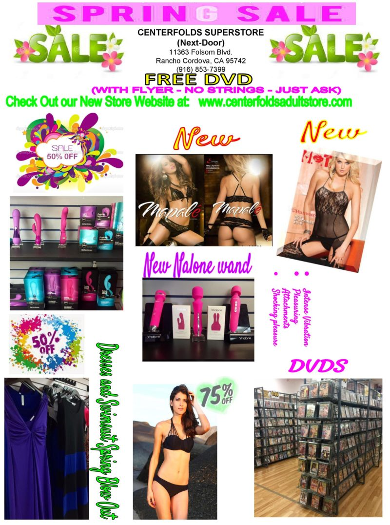 Spring Sale at Centerfolds Superstore